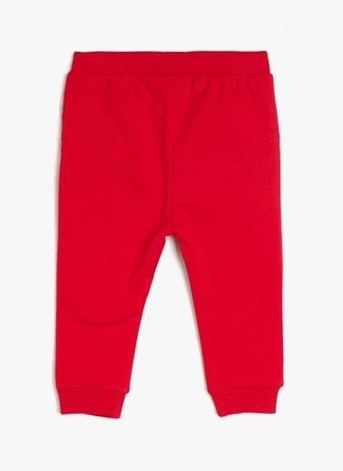Koton Kids Eşofman Altı Kırmızı